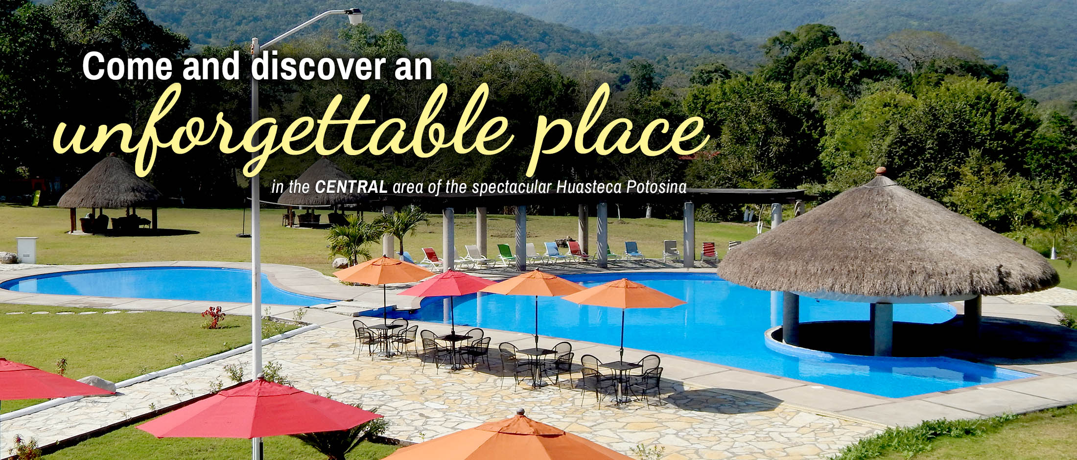 Hotel Real Tamasopo - Come and discover an unforgettable place in the central area of the spectacular Huasteca Potosina