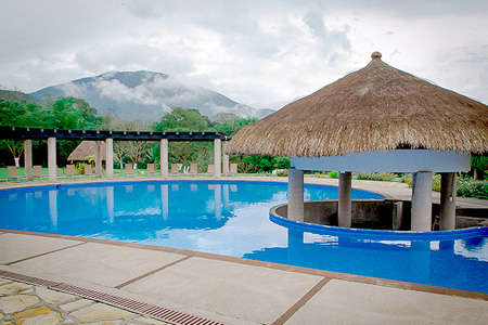 Hotel Real Tamasopo - The largest pool of the region